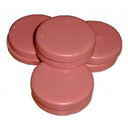 Galets de cire pelable rose en sachet de 1kg