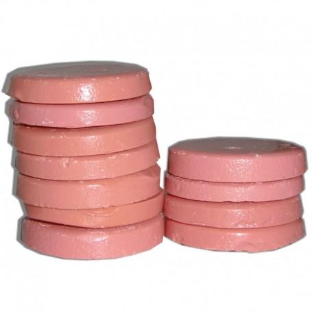 Galets de cire à épiler pelable rose, paquet de 200g