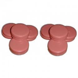 Rose - 2 kg Galets cire pelable