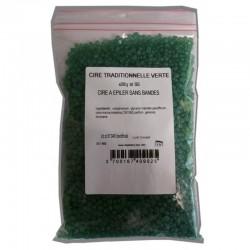 200g Perles cire à épiler traditionnelle Verte