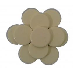 Galets Blanc cire traditionnelle, 1 kg,- Monoï. Cire à épiler
