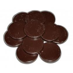 Galets de cire traditionnelle 1 kg - Chocolat