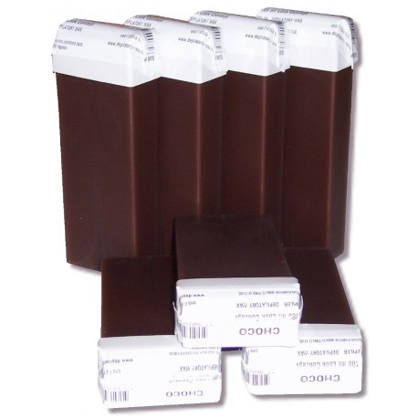 Recharge roll on cire Chocolat, 100 ml - Cire à épiler jetable