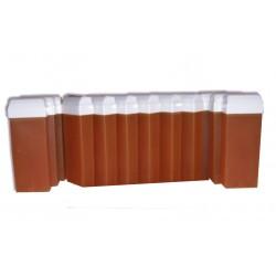 Cire à épiler Roll On Miel, 12 x 100 ml, cire jetable douce