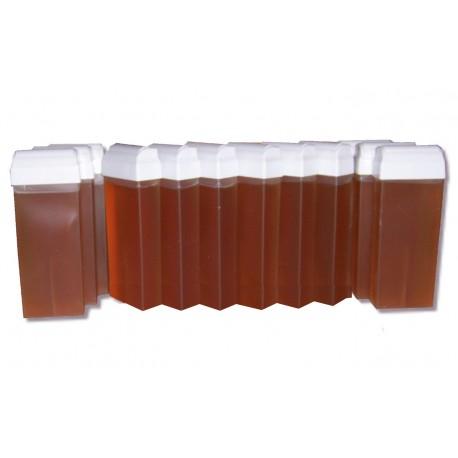 Topaz type Miel - 12 x 100 ml - Cire à épiler Roll On