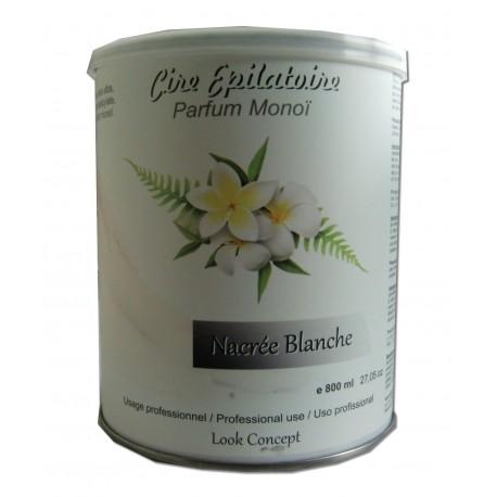 Pot 800 ml - NACREE BLANCHE - Cire à épiler