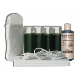 Kit épilation 4 x 100 ml - CHLOROPHYLLE - Cire à épiler