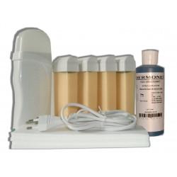 Kit épilation 4 x 100 ml - Nacrée - Cire à épiler