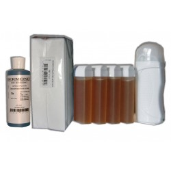 Kit Epil 4 x 100 ml - TOPAZ type MIEL - Cire à épiler