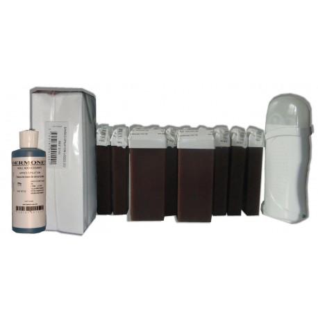CHOCOLAT - Kit épilation Cire à épiler 12 x 100 ml