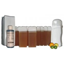 MIEL AGRUMES - Kit épilation 12 x 100 ml Cire à épiler