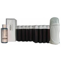 FRUITS ROUGES - Kit épilation à la Cire à épiler 12 x100 ml