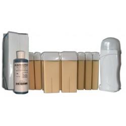 NACREE - Kit épilation à la Cire à épiler 12 x 100 ml