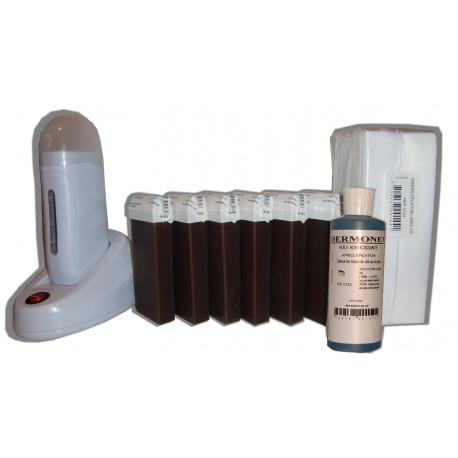 Chocolat - NEO - Kit épilation 6 x 100ml cire roll on