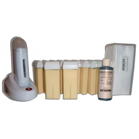 Kit épilation 12 x 100ml nacrée roll on, cire hypoallergénique