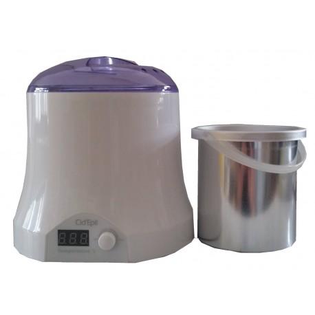 Chauffe-pot pour cire 800 ml avec cassolette. CidEpil