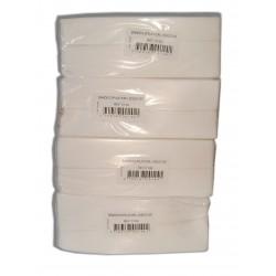 Lot de 4 paquets de 250 bandes lisses non-tissée