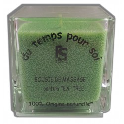 Bougie de massage parfumTea tree, 210 g