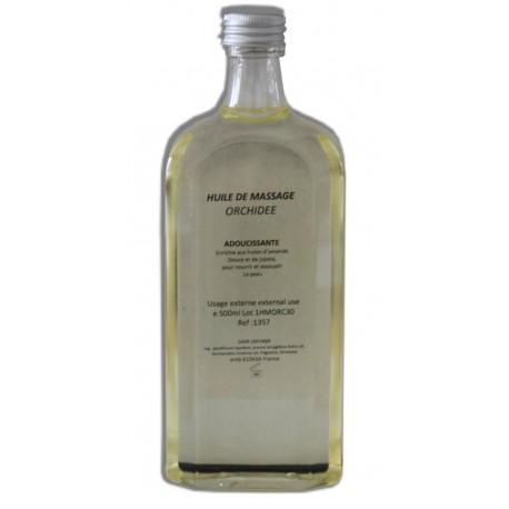 Huile adoucissante de massage parfum Orchidée, 500 ml, pour le corps et jambes