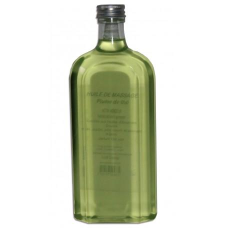 Huile adoucissante de massage pour le corps au thé vert, 500 ml