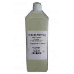 Huile de massage adoucissante pour le corps au parfum Camomille 1 litre