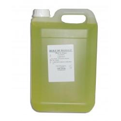 Thé vert - Huile de massage adoucissante - 5 L