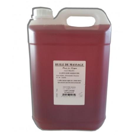 Stimulante - Huile de massage - 5 litres