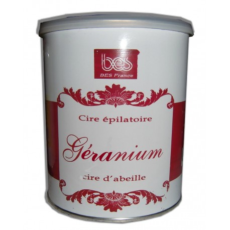 GERANIUM - Pot de 800 ml de cire à épiler