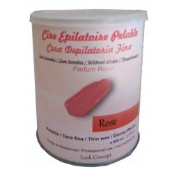 Pot 800 ml cire à épiler Pelable - ROSE