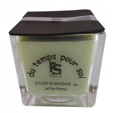 Pomme - 210 g bougie de massage