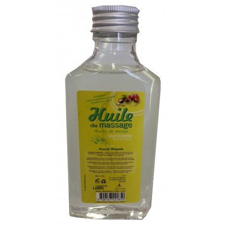 Avocat Amande - Huile de massage nourrissante - 200 ml