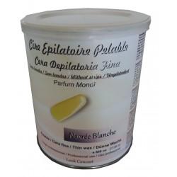 Nacrée Blanche - Pot 800 ml cire à épiler Pelable