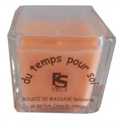 Bougie de massage 60g Cannelle Orange