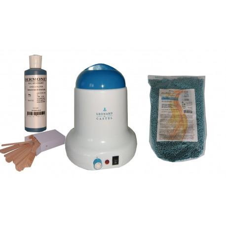 Kit épilation 800ml - Cire pelable caraïbe Ultimicire 1 kg Pastilles