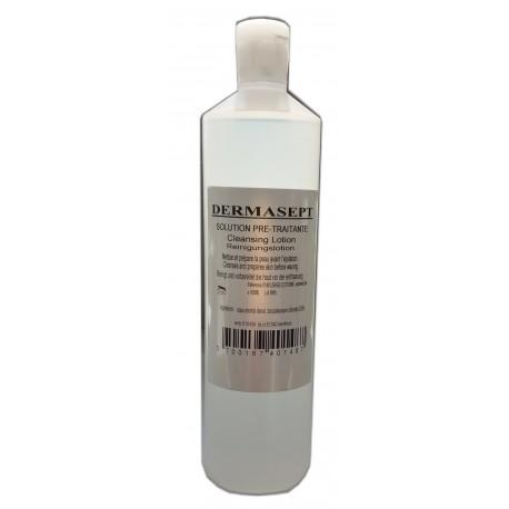 Lotion pré-épilatoire Dermasept 500 ml
