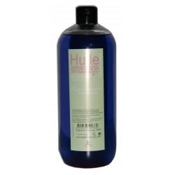 Huile adoucissante de massage pour le corps au parfum figue de barbarie 1 litre