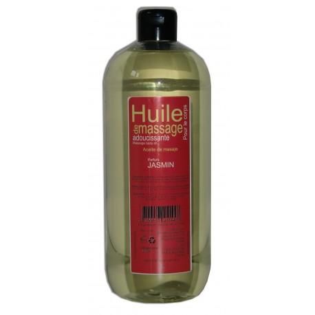 Huile de massage adoucissante parfum Jasmin,1 litre