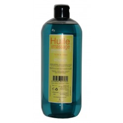 Huile de massage adoucissante pour les jambes,1 litre Menthol naturel