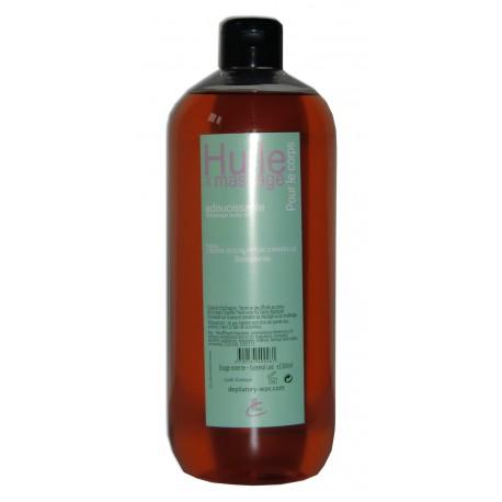 Huile adoucissante de massage pour le corps Cannelle Eucalyptus Cèdre, 1 litre