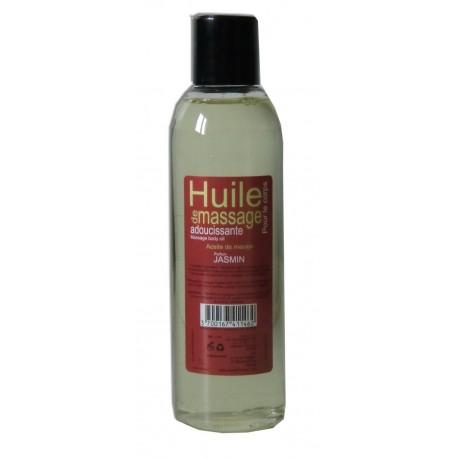 Huile de massage, 200 ml, adoucissante parfumée au Jasmin