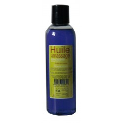 Huile adoucissante de massage pour le corps, parfumée orange pekeo 200 ml