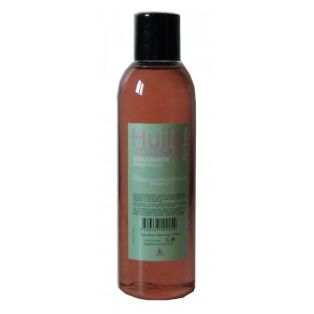 Huile adoucissante de massage pour le corps parfum Cèdre Eucalyptus Cannelle 200 ml