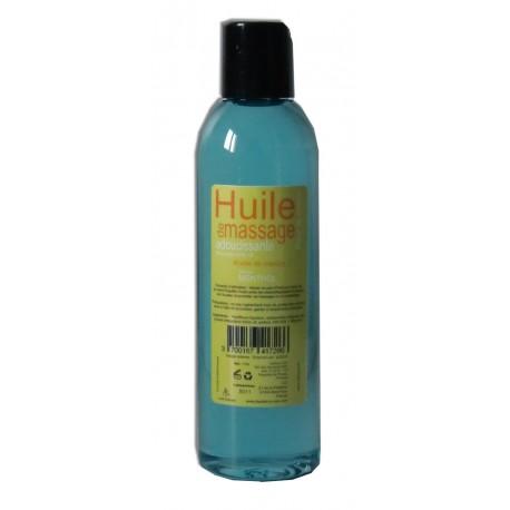 Huile de massage adoucissante Menthol en format de poche 200 ml