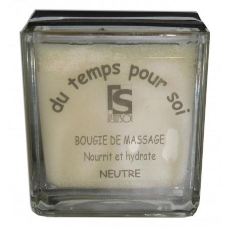 Bougie de massage. 210 g, Neutre sans parfum
