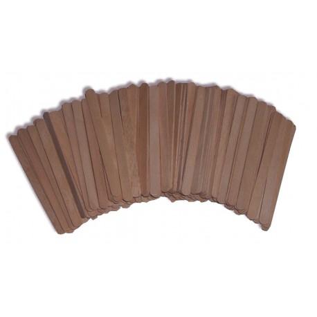 Spatule bois pour épilation du visage en Belgqiue