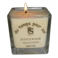 Bougie de massage. 210 g, Neutre sans parfum