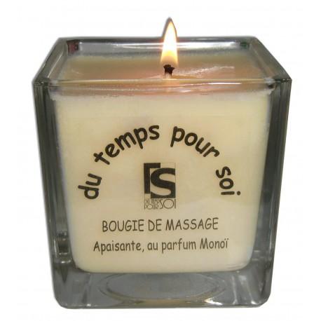 Monoï, bougie de massage pour les amoureux du végétal en massage