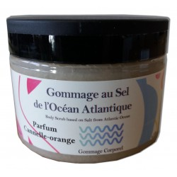Cannelle orange - Sel de gommage corps 200 g