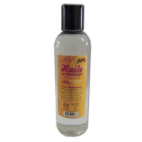Verveine-Tilleul-Bergamotte - 200 ml - Huile de massage nourrissante