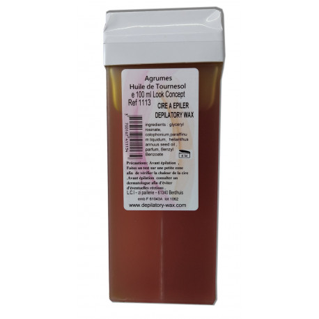 Cire jetable - Agrumes - Bio - 100 ml